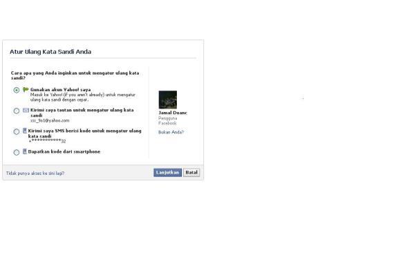 Cara Mengembalikan Akun Facebook yang Di Bobol Orang Lain